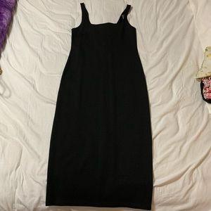 Black Short Sleeve Dress Size Medium